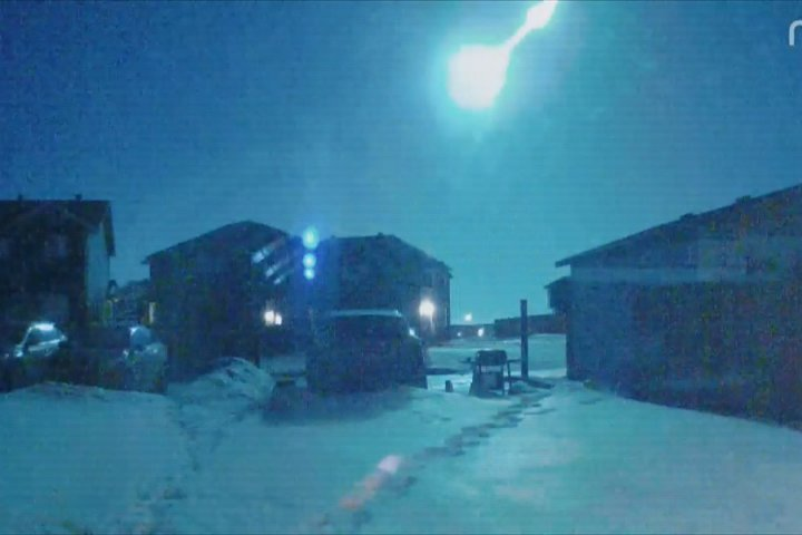 Early risers across Alberta catch glimpse of 'particularly bright' meteor