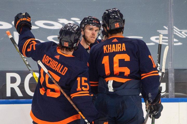 Edmonton Oilers Connor McDavid ignites against Flames