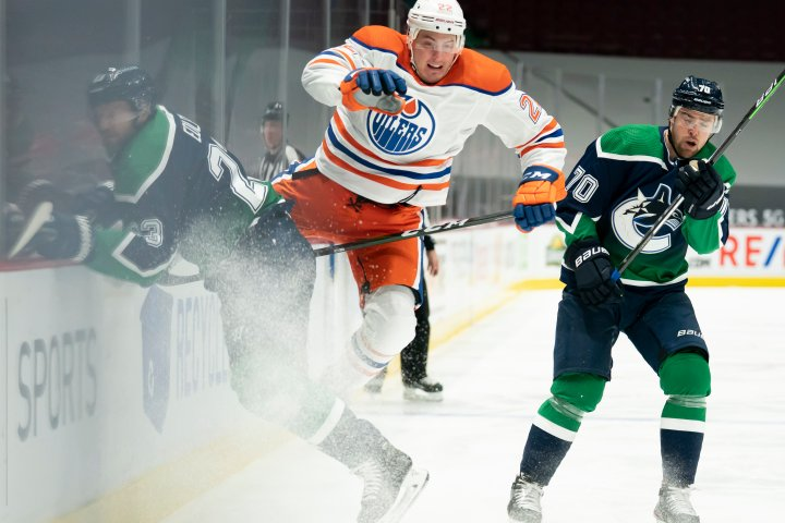 Edmonton Oilers fight back for 4-3 win over Vancouver Canucks
