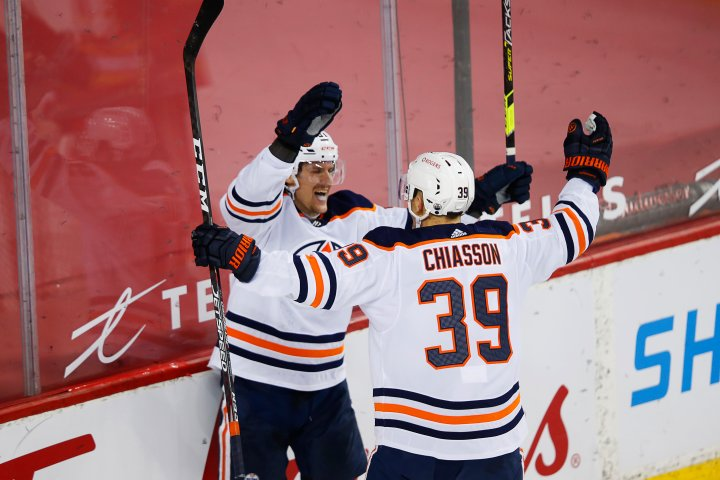 Edmonton Oilers hold off Flames for eighth win in last 10 games
