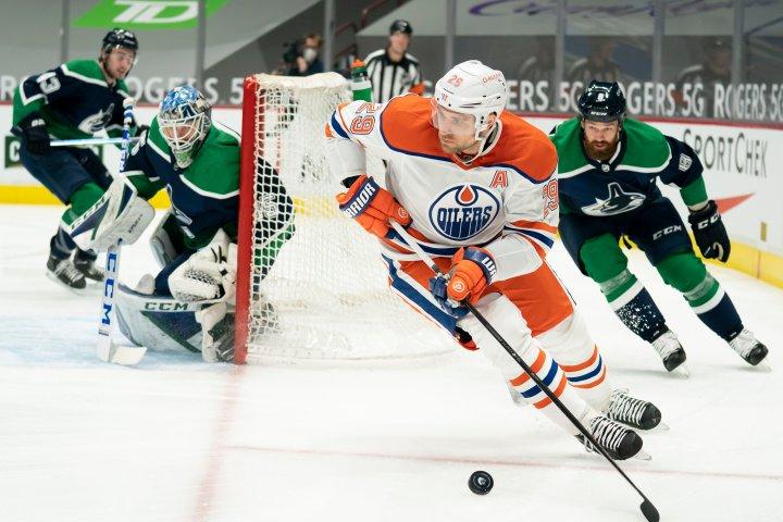 Edmonton Oilers hope to keep pressure on against Canucks