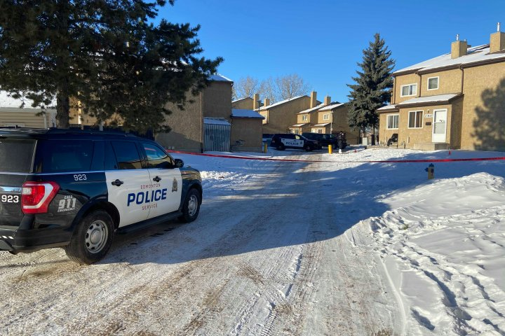 Edmonton police charge man with murder following release of video evidence