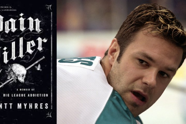 Former NHL player Brantt Myhres pens memoir about path to sobriety: 'I spilled my guts out'
