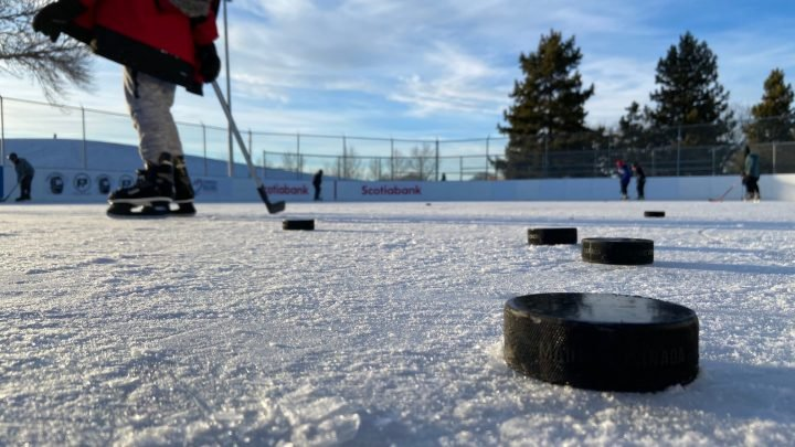 Free Play for Kids program gifted outdoor rink in Edmonton