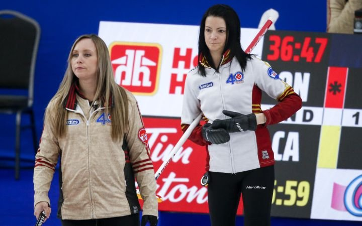 Homan and Einarson improve to 8-1 at Canadian women's curling championship