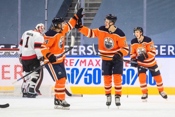 Jesse Puljujarvi scores twice as Edmonton Oilers sweep Ottawa Senators