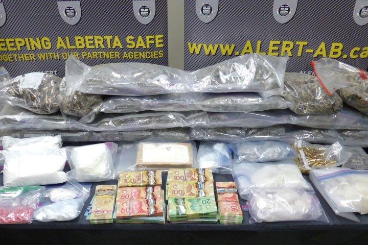 Methamphetamine 'making a huge comeback,' ALERT says after $700K Edmonton drug bust