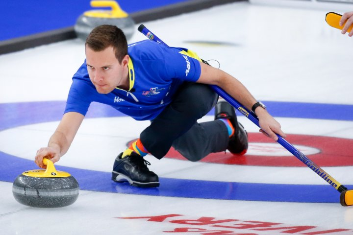 Edmonton's Brendan Bottcher prepares to battle for another curling title in Calgary's bubble