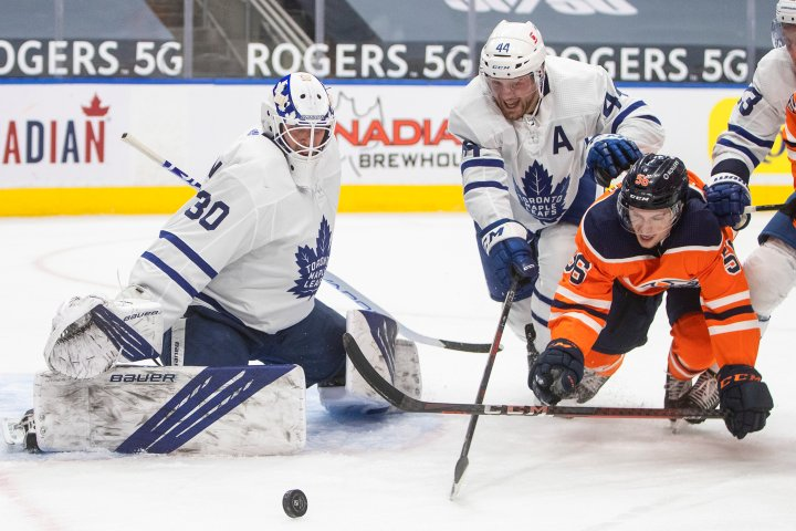 Edmonton Oilers blanked again by Maple Leafs
