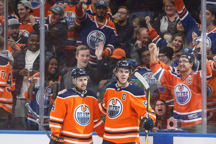 Edmonton Oilers group working with province to get fans back in the stands