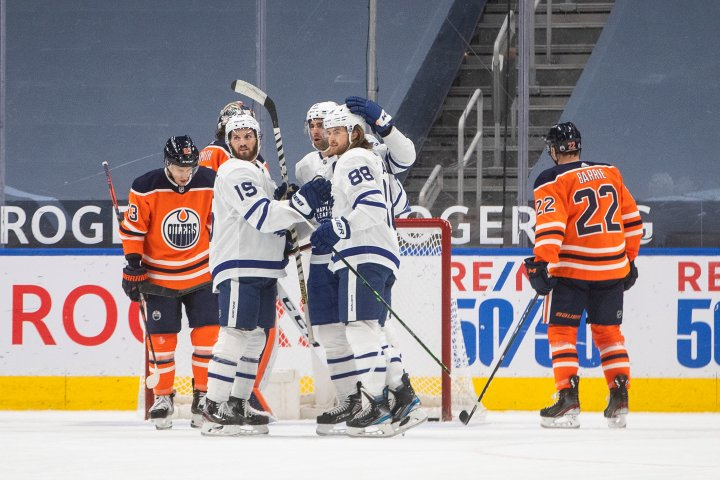 Edmonton Oilers thumped by Maple Leafs