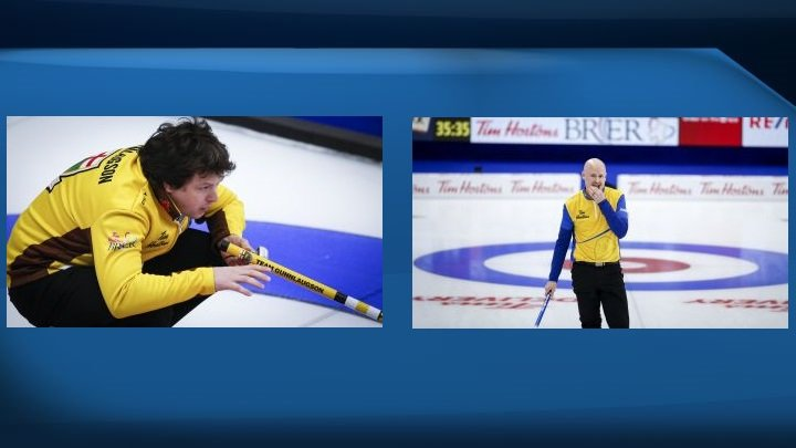 Manitoba's Gunnlaugson and Koe's Wild Card Two only unbeaten teams left at Brier
