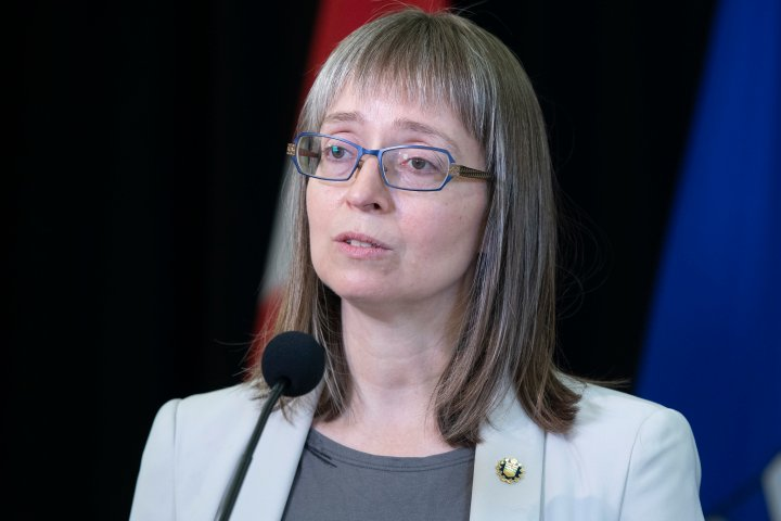 No official COVID-19 data Sunday as Alberta system updated; Hinshaw estimates 300 cases, 54 variants