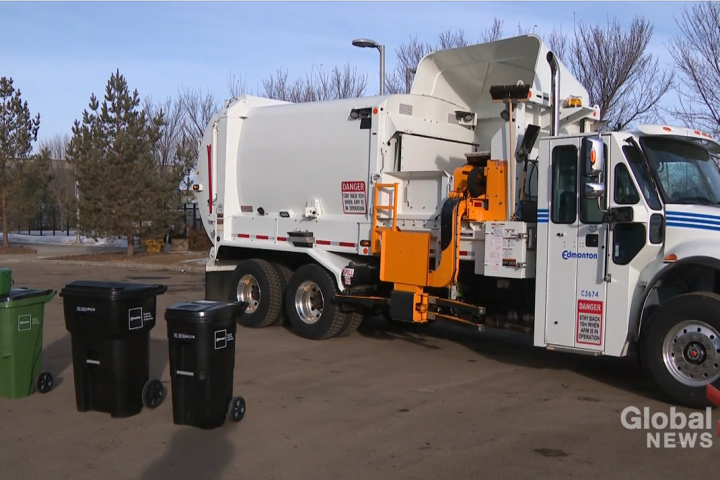 What you need to know as Edmonton begins rollout of new garbage cart system Monday
