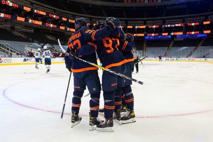 Edmonton Oilers happy to be home after extended road trip