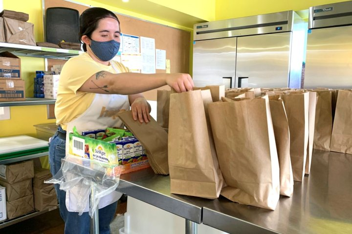 Edmonton's Hope Mission delivering free lunches to students learning at home