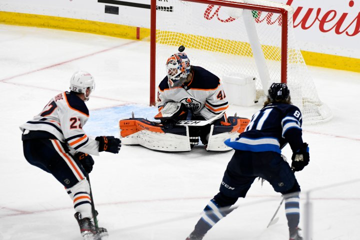 Edmonton Oilers swept by Jets after triple OT loss
