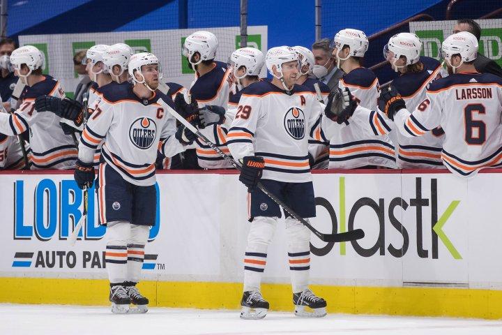 Edmonton Oilers win again in Vancouver