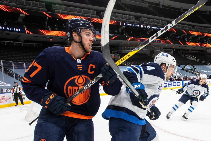 Oilers playoff schedule out, series to start against Winnipeg in Edmonton