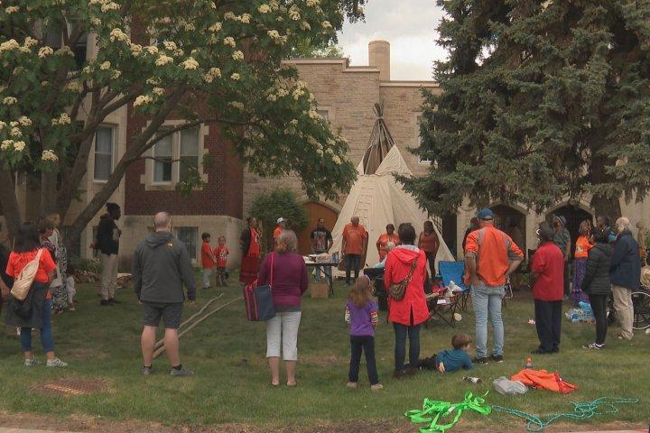 4-day ceremony underway in Edmonton to honour residential school victims