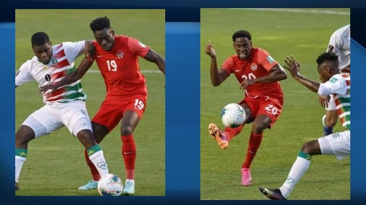Alphonso Davies and Jonathan David dazzle as Canada advances in CONCACAF World Cup qualifying
