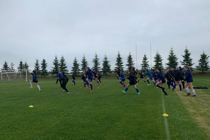 St. Albert women's soccer team looking to make major impact in inaugural pro-am season