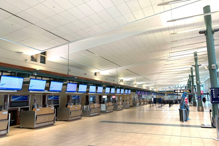 Edmonton International Airport receives nearly $25M to help with COVID-19 recovery