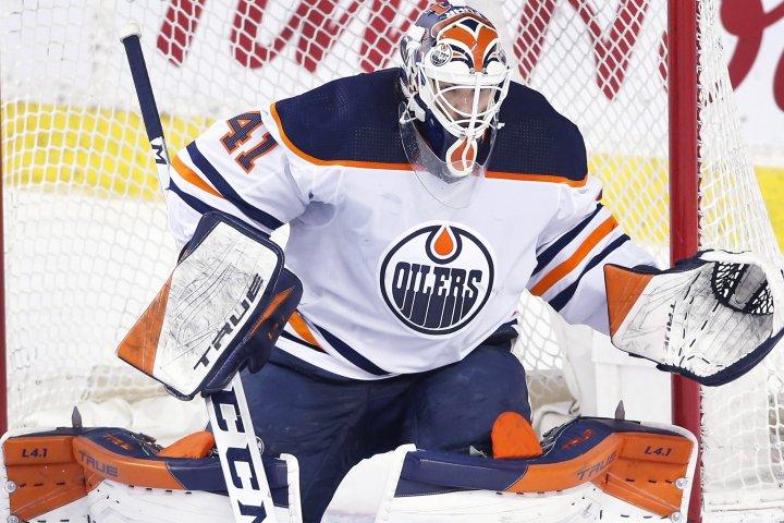 Edmonton Oilers announce 2-year deal for goalie Mike Smith