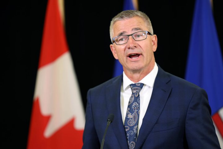 Alberta Finance Minister Toews to deliver update on first 3 months of fiscal year