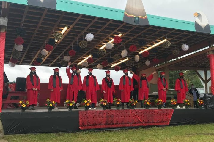 Fort Chipewyan community-run high school celebrated as 41 students graduate this year