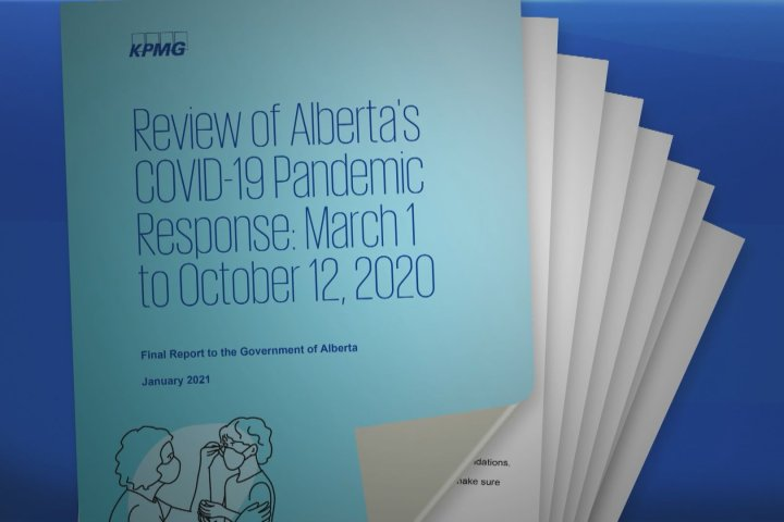Mixed response to review of Alberta government's handling of first wave of Covid-19