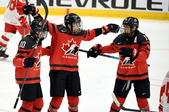 Puck drops on women's world hockey championship in Calgary after pandemic hiatus