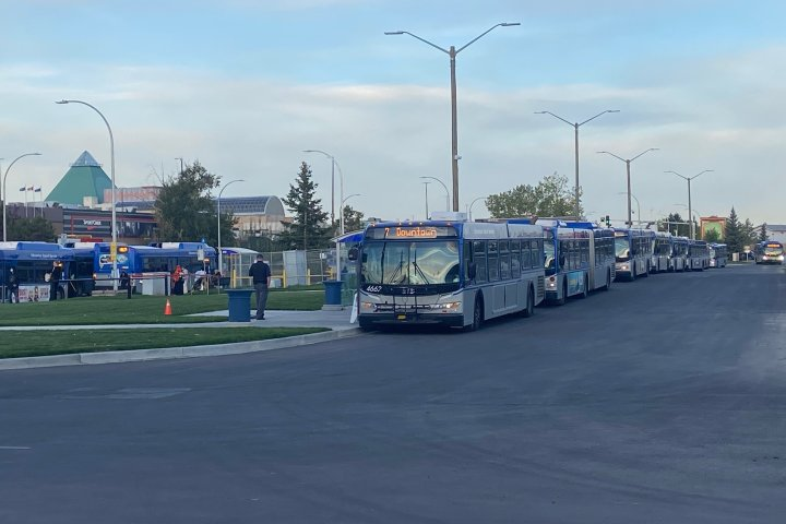 West Edmonton Mall Transit Centre relocates for several years due to LRT construction