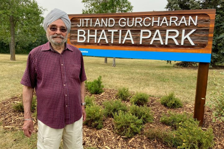 Edmonton park named after immigrant who was once told to 'look more Canadian' in job interview