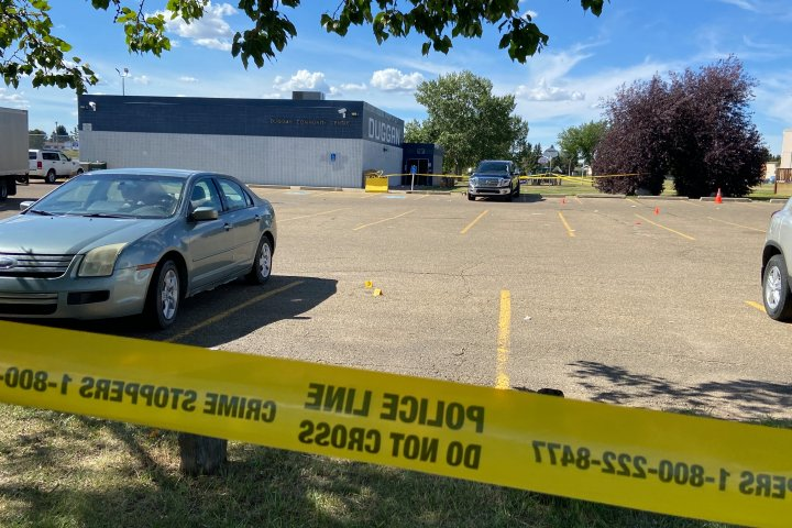 2 men charged with murder after shooting at south Edmonton community hall