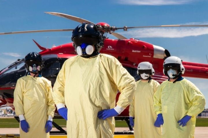 COVID-19's 4th wave fatigue becoming a factor for Alberta's STARS Air Ambulance crews