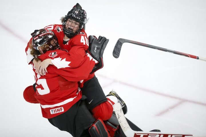 Canada beats U.S. in overtime, captures world championship gold for first time since 2012
