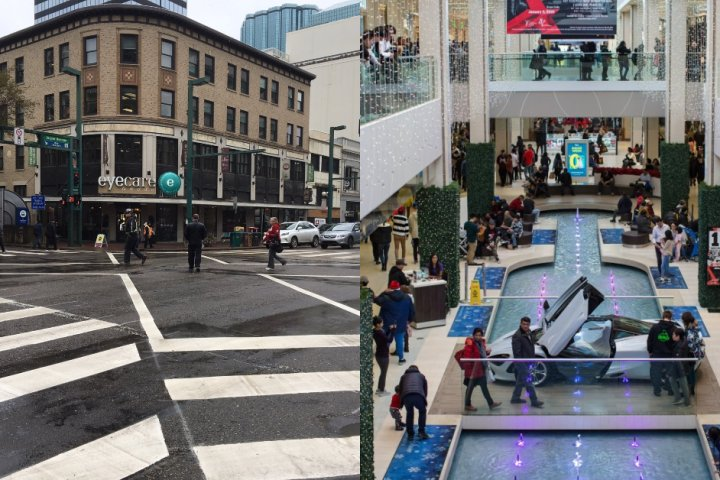 Did West Edmonton Mall's opening 40 years ago change the downtown core?