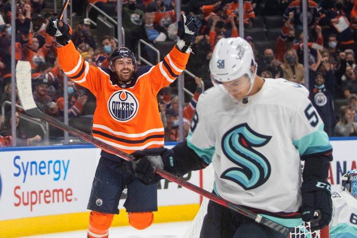 Edmonton Oilers stars shine in win over Seattle Kraken