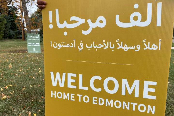 Refugees from Afghanistan begin to arrive in Edmonton and Calgary
