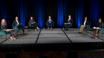 Calgary Chamber mayoral debate mixes barbs with business