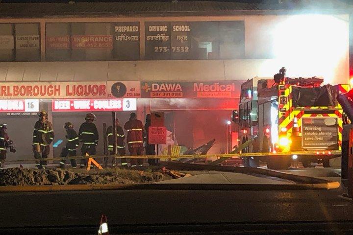 Calgary fire, CPS call northeast blaze on Sunday morning 'suspicious'