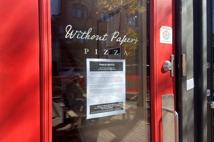 Calgary restaurant's permit suspended for failing to comply with COVID-19 restrictions