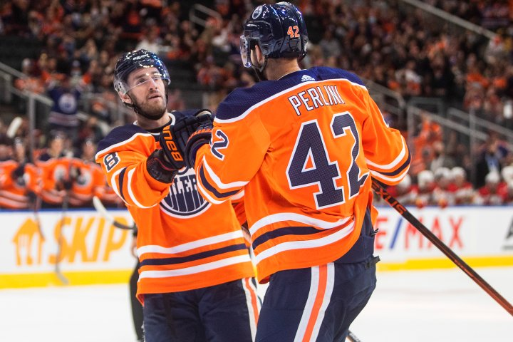 Edmonton Oilers rally from 3-0 deficit to beat Flames
