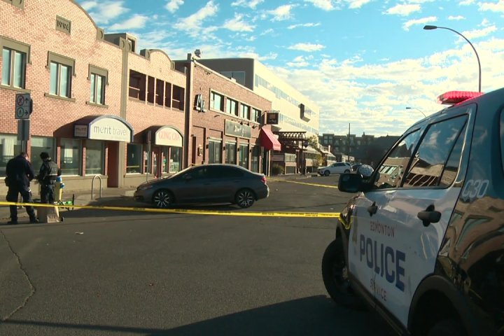 Edmonton police need photos and videos after fatal shooting near Whyte Avenue