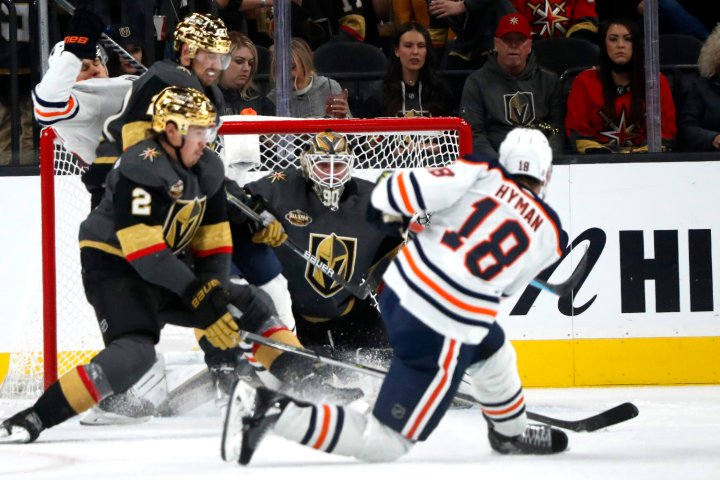 Zach Hyman scores twice as Edmonton Oilers remain unbeaten
